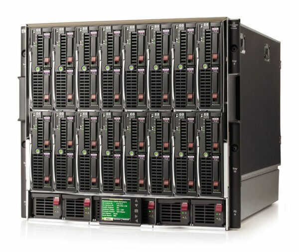 HPE BLC7000 CTO Blade Enclosure Model X 3 - With warranty and technical service for installation or support.